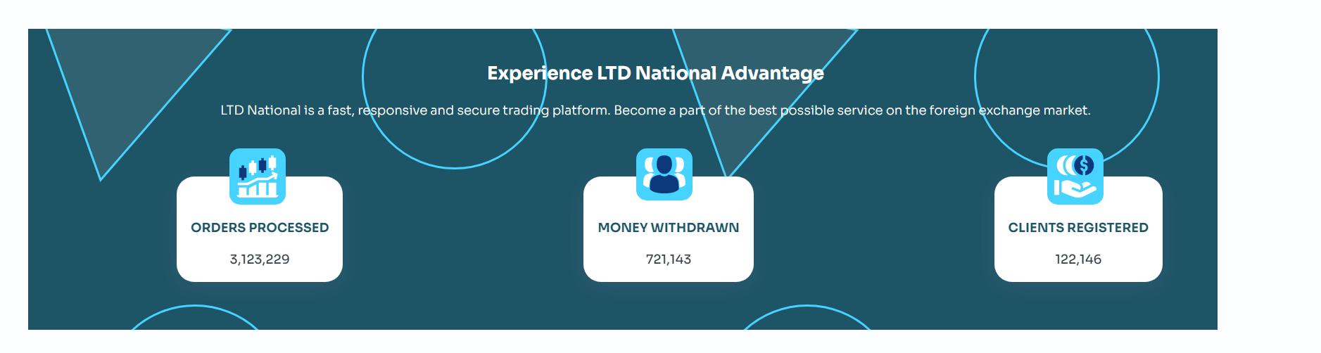 Главная страница LTD National