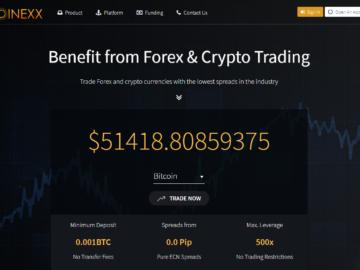 Проект Coinexx – мошенники?